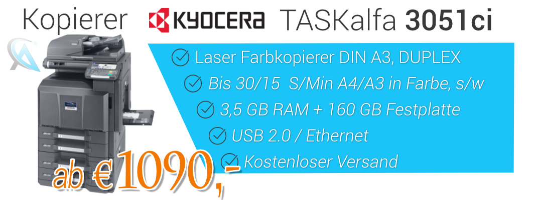 Kopierer Kyocera Taskalfa 3051ci