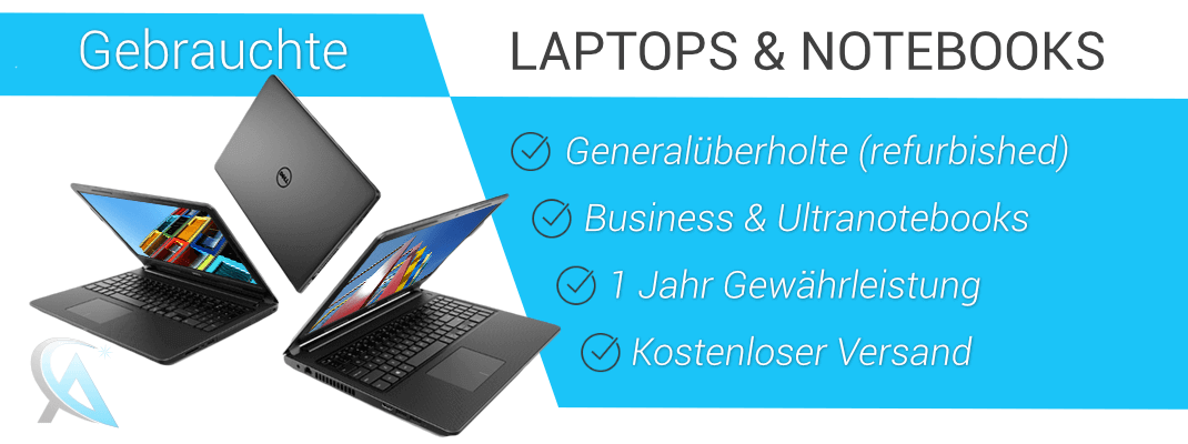 Gebrauchte Laptops & Notebooks