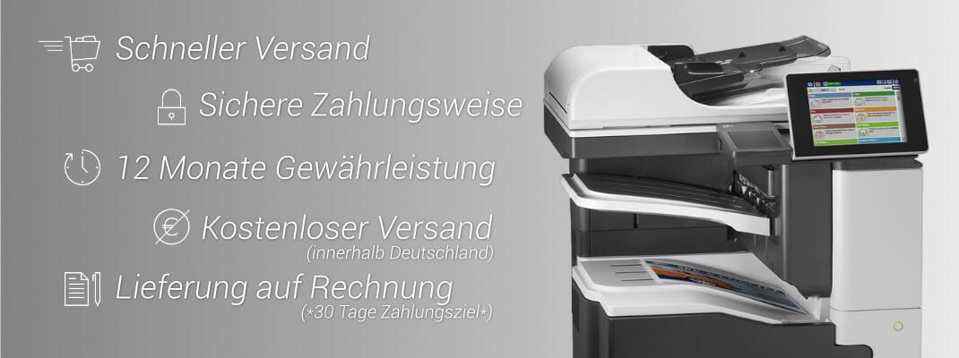 Gebrauchte Laserdrucker, Kopierere und Scanner renoviert billig kaufen