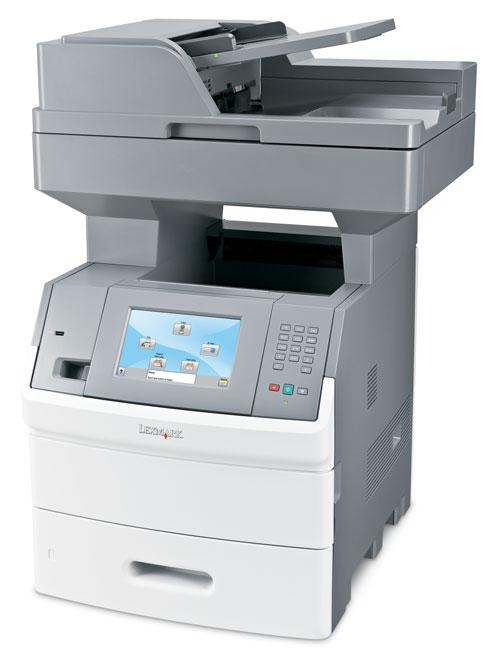 lexmark x654de multifunktionsger t laser faxger t kopierer scanner laserdrucker ebay. Black Bedroom Furniture Sets. Home Design Ideas