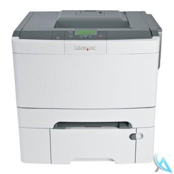 Lexmark C544DTN gebrauchter Farblaserdrucker
