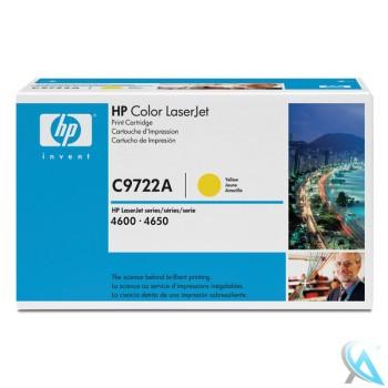 Original HP C9722A, 641A Toner Gelb