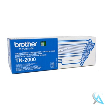 Original Brother TN-2000 Toner Schwarz