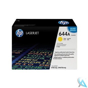 Original HP Q6462A, 644A Toner Gelb