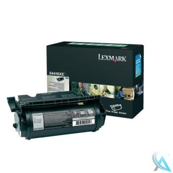 Original Lexmark 64416XE Toner Schwarz