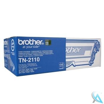 Original Brother TN-2110 Toner Schwarz 2.600 Seiten