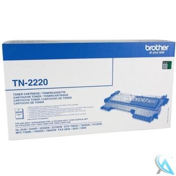 Original Brother TN-2220 Toner Schwarz