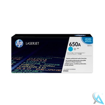 Original HP CE271A, 650A Toner Cyan