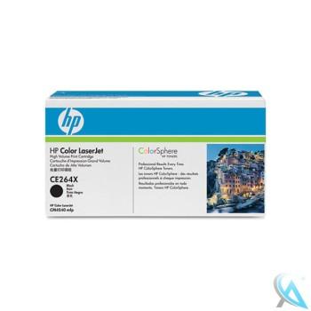 Original HP CE264X, 646X Toner Schwarz