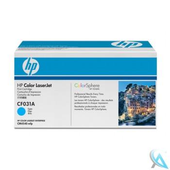 Original HP CF031A, 646A Toner Cyan