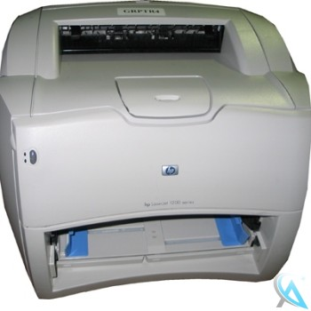 HP Laserjet 1200 gebrauchter Laserdrucker ohne Papierschacht