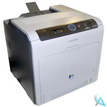 Samsung CLP-670ND gebrauchter Farblaserdrucker mit neue Toner