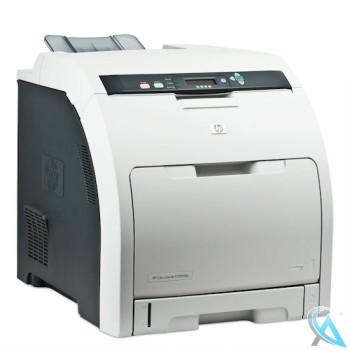 HP Color Laserjet CP3505DN Farblaserdrucker mit neuem Tonersatz