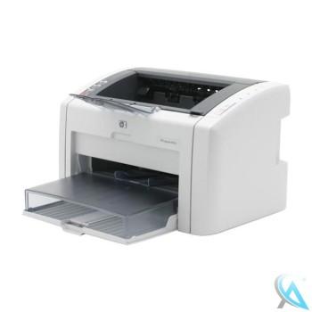 HP Laserjet 1022 gebrauchter Laserdrucker mit neuem Toner