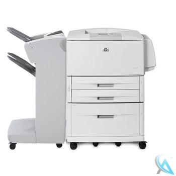 HP Laserjet 9040DN Laserdrucker mit C8531A und Finisher C8085A