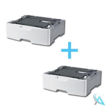 2x Lexmark Zusatzpapierfach 34S0550 550Blatt