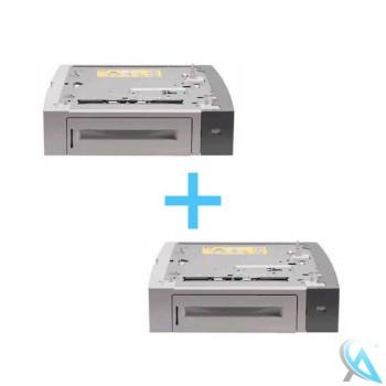 2er Pack HP Q7499A gebrauchtes Zusatzpapierfach
