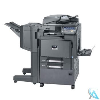 Kyocera TASKalfa 3050ci Kopierer Finisher DF-770D und Holzunterschrank CB-730