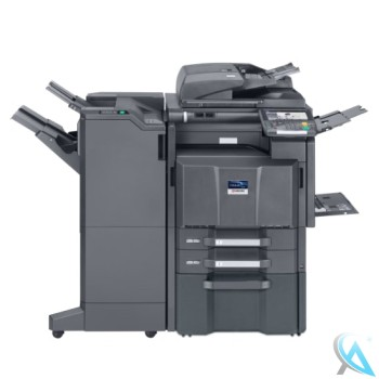 Kyocera TASKalfa 3500i Kopierer mit Finisher DF-790 und Unterschrank