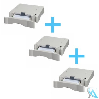3x Kyocera Zusatzpapierfach PF-17 für FS-1020 FS-1030 FS-1050 FS-1118MFP
