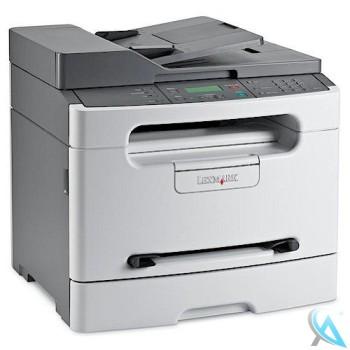 Lexmark X204n Multifunktionsgerät mit neuem Toner