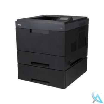 Dell 5330dn gebrauchter Laserdrucker mit Zusatzpapierfach