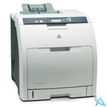 HP Color Laserjet CP3505N gebrauchter Farblaserdrucker mit neuem Toner
