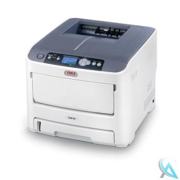 OKI C610DN gebrauchter Farblaserdrucker