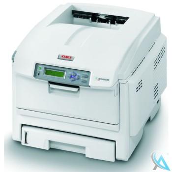 OKI C5950N gebrauchter Farblaserdrucker ohne Toner ohne Trommel