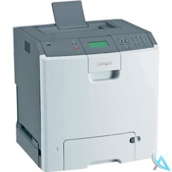 Lexmark C736n Farblaserdrucker OHNE Toner OHNE Trommel