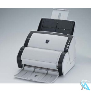 Fujitsu FI-6130 gebrauchter Scanner mit Imprinter FI-614PR