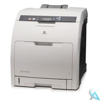 HP Color Laserjet 3600DN gebrauchter Farblaserdrucker mit neuem Toner