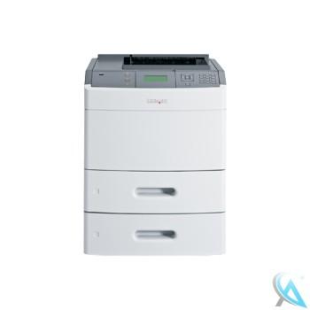 Lexmark T652dtn gebrauchter Laserdrucker mit neuem Toner