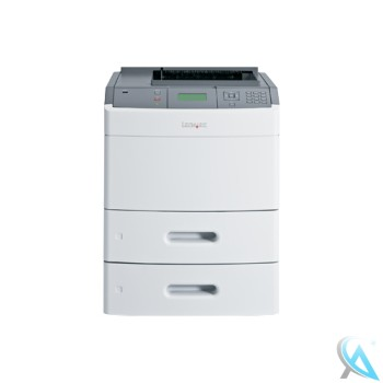 Lexmark T652dtn gebrauchter Laserdrucker ohne Toner