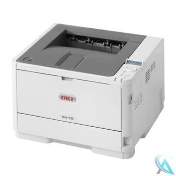 OKI B412DN gebrauchter Laserdrucker mit neuem Toner und neuer Trommel