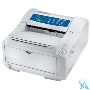 OKI B4350 Laserdrucker mit neuem Toner und neuer Trommel