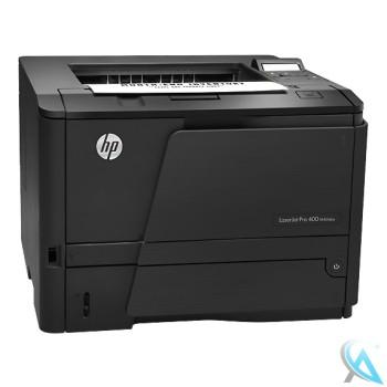 HP Laserjet 400 M401DNE gebrauchter Laserdrucker mit neuem Toner