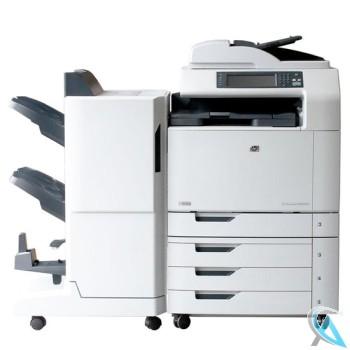 HP Color LaserJet CM6030F MFP gebrauchte Kopierer mit Finisher Q6998A