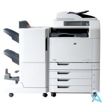 HP Color Laserjet CM6040F MFP Kopierer mit Finisher Q6999A