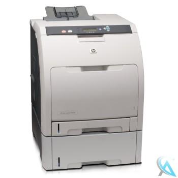 hp-color-laserjet-cp3505dtn mit neuem Toner