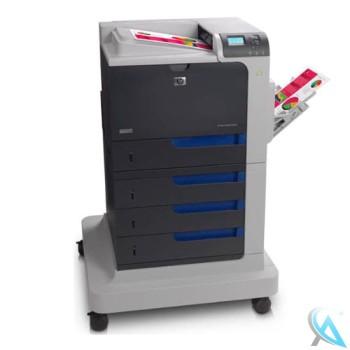HP Color LaserJet CP4525DTN gebrauchter Farblaserdrucker mit auf Rollen (CC423A)