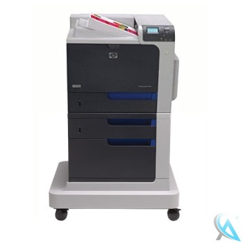 HP Color Laserjet CP4525DTN Farblaserdrucker auf Rollen (CC422A)