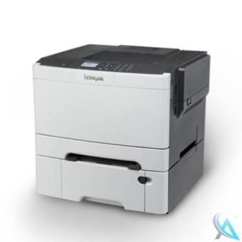 Lexmark CS410n gebrauchter Farblaserdrucker mit Zusatzpapierfach 38C0636
