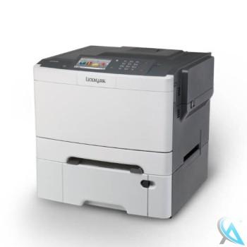 Lexmark CS510de gebrauchter Farblaserdrucker mit Zusatzpapierfach 38C0636