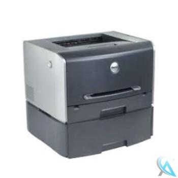 Dell 1710n gebrauchter Laserdrucker mit Zusatzpapierfach und neuer Trommel