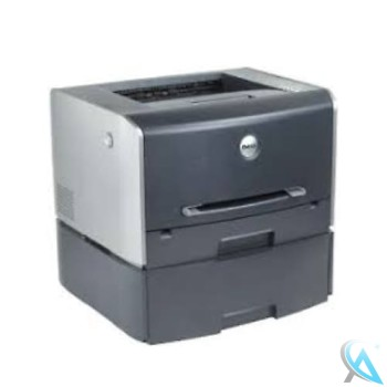 Dell 1710n gebrauchter Laserdrucker mit Zusatzpapierfach und neuem Toner neuer Trommel