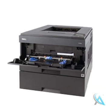 Dell 2330DN gebrauchter Laserdrucker mit Zusatzpapierfach und mit neuem Toner und Trommel