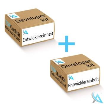 2x Lexmark original gebrauchter Entwickler C540X32G Cyan für C540 C543 C544 C546 X534 X543 X544 X546 X548