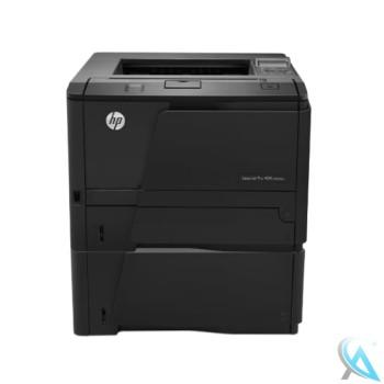 HP LaserJet 400 M401DNE gebrauchter Laserdrucker mit Zusatzpapierfach CF284A
