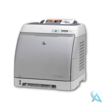 HP Color LaserJet 2605DN  mit neuem Toner